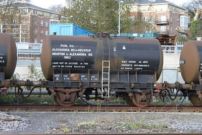 607A - Fuel Oil Transfer Tank - on 07.11.09 at Heuston Yard.