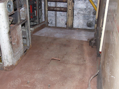 Floor for Cab No.1 completed and fitted for short period on 08.03.08