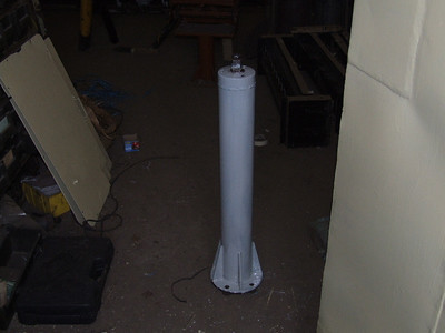 Break Pedestal for Cab No.2 Primed on 17.05.08.