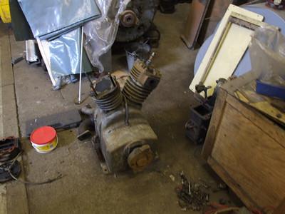 Work starts repairing Compressor on 16.08.08.