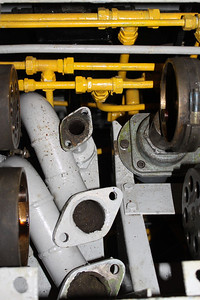 Vacuum Brake Pipes fitted in Driver's Desk on 13.11.10.