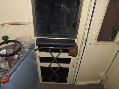 Work carried out on Door of Cab on 08.08.09.