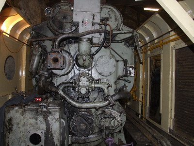 General View of Engine Room on 14.02.09.