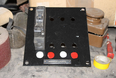 Start made to adding Marker Light Switches to Board.