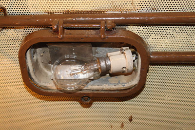 Cab Light Socket and Bulb fitted on 05.10.11.
