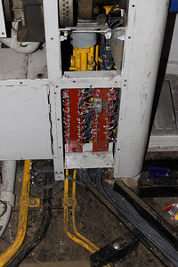 Further work carried out on wiring on 20.01.13.