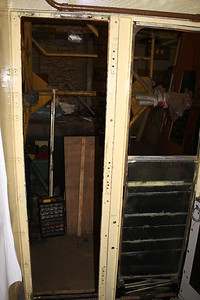 Wooden Door Surround refitted on 12.02.13.