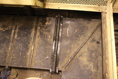 Clamp applied to stabilize floor in Engine room on 02.03.13.
