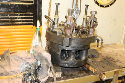 Cylinder Head No. 8 Cleaned on 05.07.14.