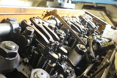 Cylinder Heads 2,3 & 4 before days work on 21.07.14