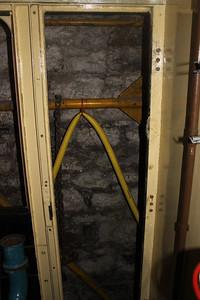 Frame prepared for door fitting on secondman's side on 11.02.14.