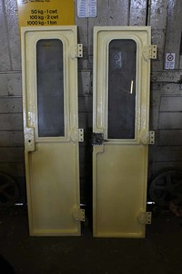 Both Cab Doors for No.1 Cab gloss painted on 15.05.16.
