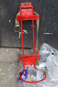 Finally painted the Fire Extinguisher Holder a nice red on 07.04.12.