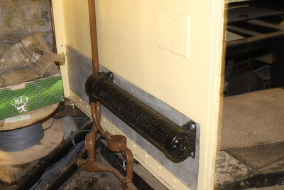 Cab Heater and Conduit covers replaced on 22.02.12.