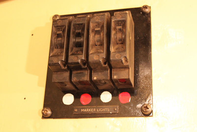 Marker Light Switches re-fitted on 08.03.12.