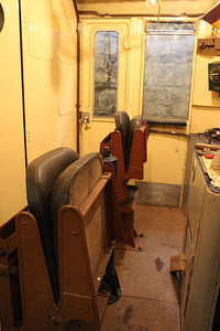 Floor finally screwed permanantly in place. Driver's seats and Hand brake column replaced on 07.04.12.