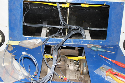 Wiring of Wiring of Centre Console has commenced on 06.11.12.