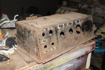 Driver's Desk of G601 before restoration started on 18.01.14.
