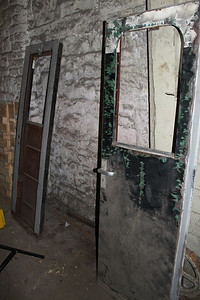 Cab Doors of G616 continued to be dismantled on 11.01.14.