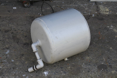 Vacuum Tank cleaned and primed on 26.05.12.