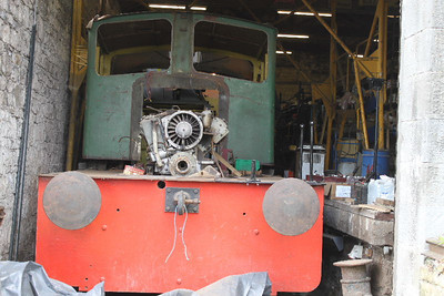 G616 tidied up to allow more restoration work to be done on 31.03.12.