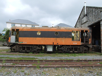 226 outside its shed at Carrick-on-Suir on 13.05.06.