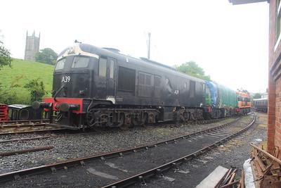 A39. C231 & 146 at Downpatrick on 07.06.14.
