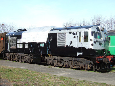 A39 on 10.03.07 during re-painting.