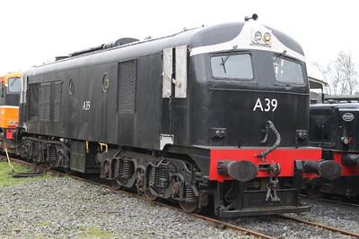 A39 at Downpatrick on 29.01.12.