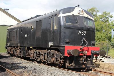 A39 at Downpatrick on 24.08.13.