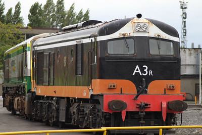 A3r on 22.08.09 at  Inchicore.