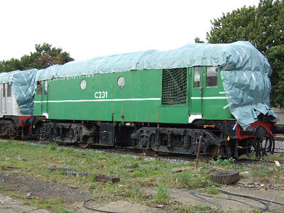 C231 at Inchicore on 17.09.05.