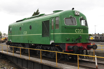C231 at Inchicore on 22.08.09.