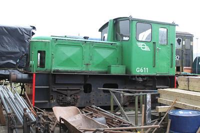 G611 at Downpatrick on 22.11.09.