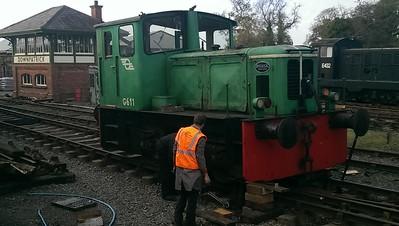G611 -  Deutz Class 611 G Class.