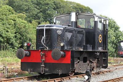 Deutz G617  at Downpatrick on 04.08.12.