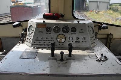Driver's Desk in G617 at Downpatrick on 04.08.12.
