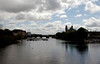 Looking south over the River Shannon, Athlone, 9 May 2009 - 1313