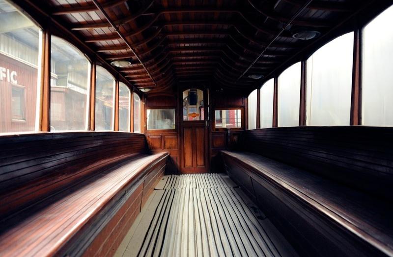Hill of Howth Tramway No 2, Orange Empire Railway Museum, Perris, California, 28 April 2013 2.