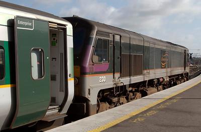 Dublin - Belfast Enterprise, 2009