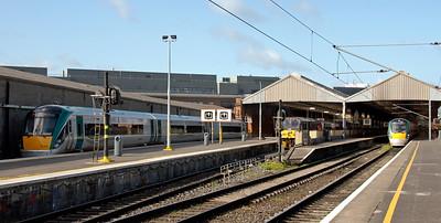Dublin trains: Connolly station and north Dublin, 2009 & 2012