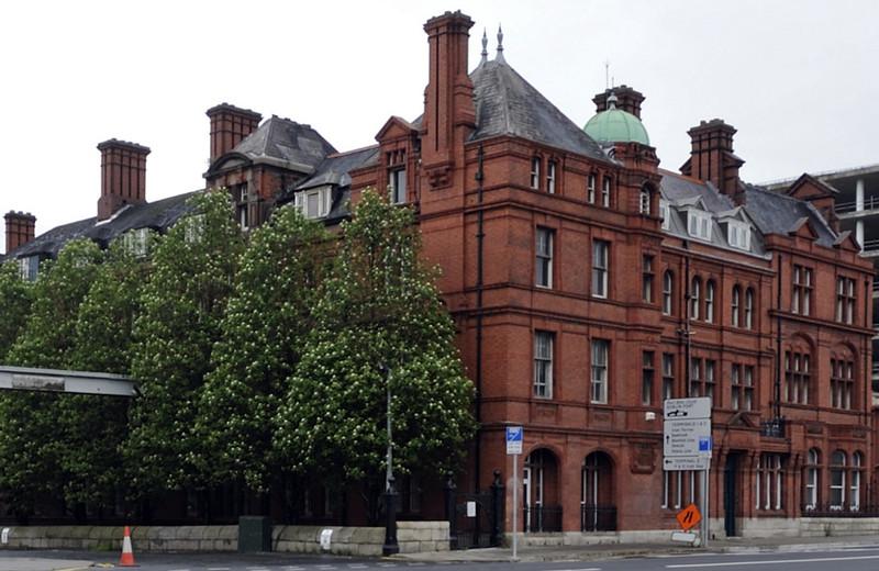 Former LNWR hotel, North Wall, Dublin, Thurs 10 May 2012.