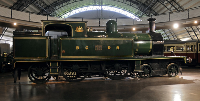 Belfast & County Down Railway 4-4-2T No 30, Ulster Transport Museum, Cultra, Co Down, 17 May 2012 2.