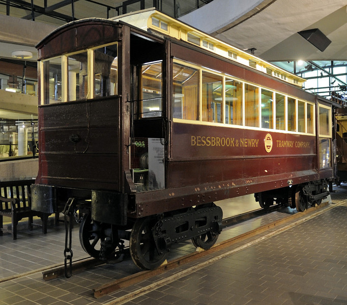Bessbrook & Newry Tram No 2, Ulster Transport Museum, Cultra, Co Down 2 - 17 May 2012.