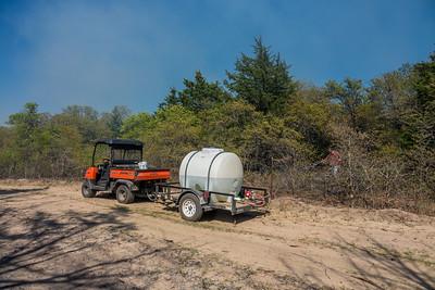 My Ranch Fire Department:  425 gallons, Honda Pump