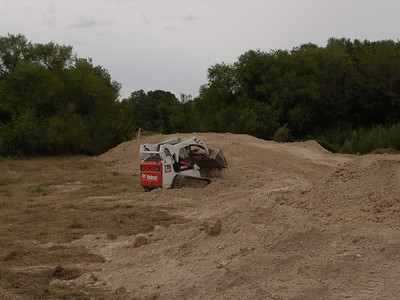 Building ramps for bridge
