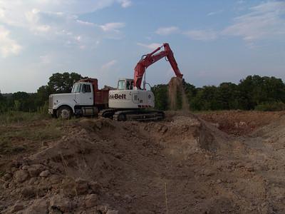 Moving dirt for ramps  bridge