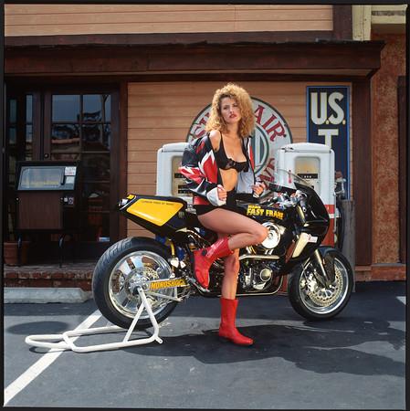 Fast Dates Racebike Calendar 1995