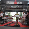 4 time champion Chris McDonald crosses the finish line and collapses.