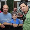 Jon Dubin, Cameron Mullins and Greg Gitschier of Kids Cancer Alliance.